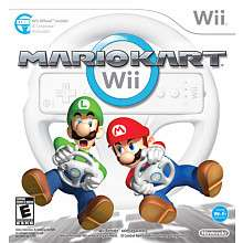 Mario Kart Wii with Wheel for Nintendo Wii   Nintendo