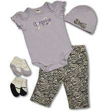 Baby Essentials 5 Piece Layette Set   Gorgeous   Pacesetter   Babies