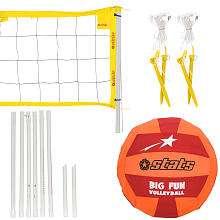 Stats Big Fun VolleyBall Set   Toys R Us