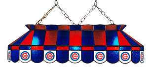CHICAGO CUBS LOGO 40 CEILING LAMP POOL TABLE LIGHT