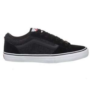 VANS La Cripta Dos Denim Black Mens Skate Shoes Omar Hassan Signature