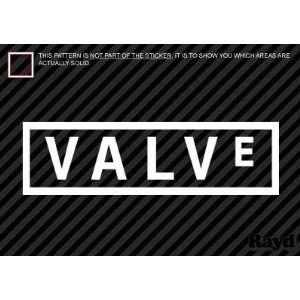 (2x) Valve Corporation  Sticker   Decal   Die Cut
