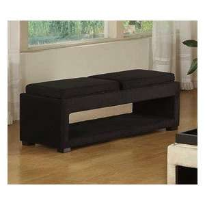 Living Tray Table Bench with Storage Indoor Bench Furniture & Decor
