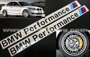 BMW Performance Decal Sticker M3 M6 Z3 Z4 M5 Motorsport