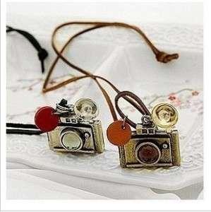Fashion Ancient Camera Retro Style Sweater Necklace