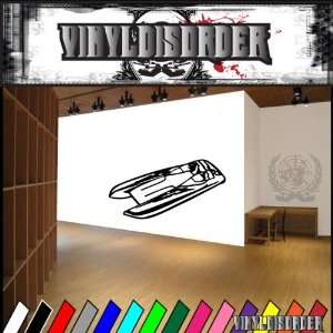 Speed Boat Boat Boats Large Vinyl Decal Stickers 001