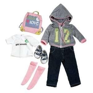 Adora 18 Doll Clothes   Girl Scout Trendy Ensemble Toys & Games