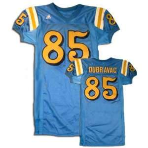 Jon Dubravac UCLA Bruins Blue #85 Game Worn Football