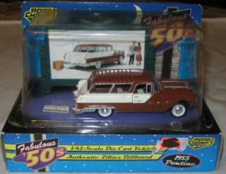Champs 1/43 Fabulous 50s 1955 Pontiac Safari Die Cast Car dated 1997