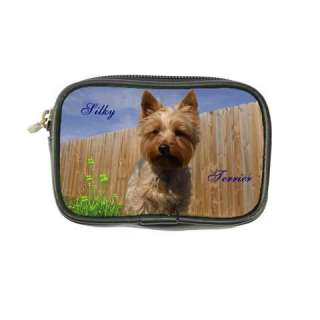 Silky Terrier Dog Puppy Leather Coin Purse Wallet Bags