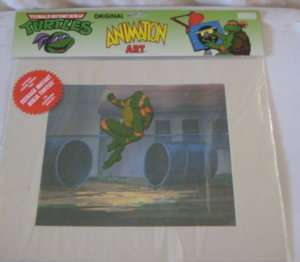 Teenage Mutant Ninja Turtles Original Animation Art