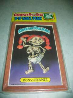 Garbage Pail Kids 3 D Wall Plak Topps (1986) Sealed