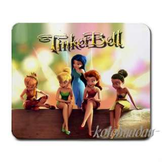 New* HOT TINKERBELL AND FRIENDS Mouse Pad Mat