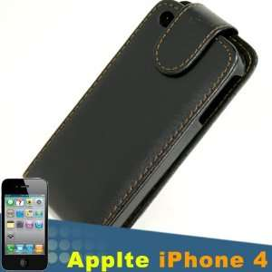 Leather Flip Case Cover Guard Pocket Protective Protector Brown Line
