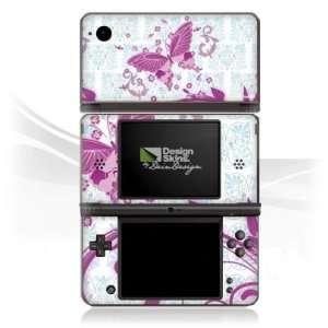 Design Skins for Nintendo DSi XL   Pink Butterfly Design