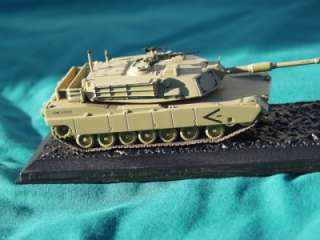 M1 ABRAMS M1A1HA HEAVEY ARMOUR TANK MILITARY DIECAST