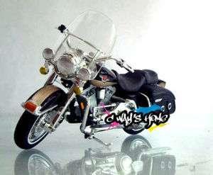 18 Harley Davidson 1998 FLHT Road King Diecast Motorcycle Model