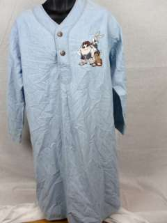 VTG TAZ BUGS BUNNY LOONEY TUNES NIGHT GOWN M/L