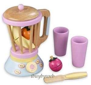 Kidkraft Kids Play Kitchen Wooden Blender Smoothie Set