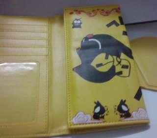 Ranma 1/2 Black Pig Hibiki Ryouga Wallet Coin Bag New