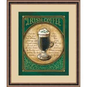com Irish Coffee by Gregory Gorman   Framed Artwork Home & Kitchen