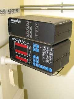 14 Micro Vu VU Q 16 OPTICAL COMPARATOR, micro vu #q 16 dro W/prog