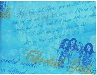 & Pillow Panel Quilt Quilting Fabric Disney Cheetah Girls New