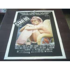 Movie Poster Star 80 Mariel Hemingway Bob Fosse 1983: Everything Else