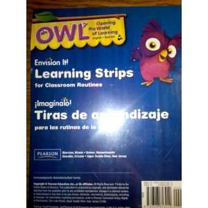 OWL, Envision It, Learning Strips for Classroom Routines