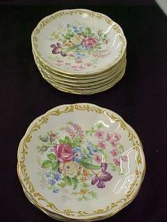 Royal Albert Bone China Nosegay Set 13 Saucers