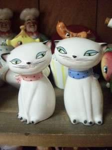 VTG HOLT HOWARD ASIAN COZY KITTEN SALT PEPPER SHAKERS
