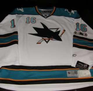 DEVIN SETOGUCHI SIGNED #16 San Jose Sharks Jersey w/COA