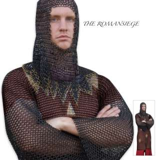 KNIGHTS WEARABLE ARMOR CHAINMAIL TUNIC BATTLE READY