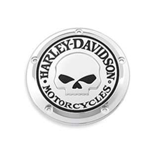 HARLEY WILLIE G SKULL TWIN CAM TIMER COVER HD 32975 04A