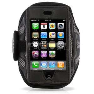 Ecell   GREY WIDOW SPORTS ARMBAND CASE FOR APPLE iPHONE 3G
