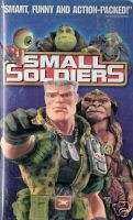 SMALL SOLDIERS Animatronic Toy Soldiers Antimated VHS 096898401838