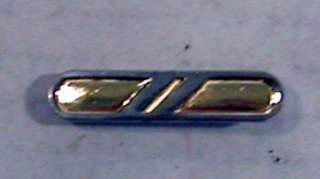 full size, 1.5, rank pin with military clutch back pins on back