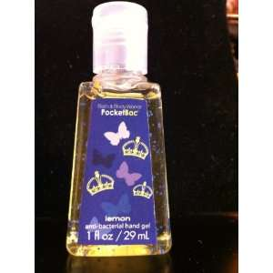 Bath & Body Works Lemon Pocketbac Sanitizing Hand Gel: Beauty