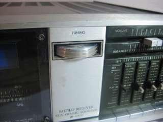 Vintage JVC Stereo Receiver JR S400 w/ S.E.A. Graphic Equalizer