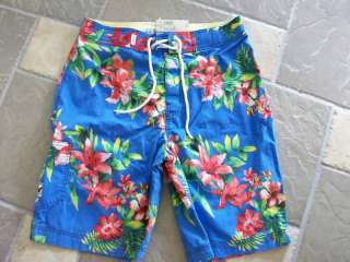 NEW AMERICAN EAGLE SWIM TRUNKS BOARD SHORTS MENS 31
