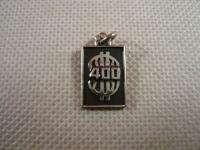 SILVER STERLING VINTAGE 400 DOLLAR $ SIGN SYMBOL BRACELET CHARM NOT