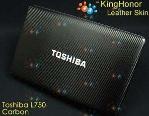 KH Special Laptop Carbon Skin Fit Toshiba L750