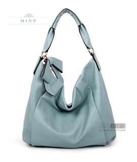 GENUINE LEATHER purse handbag HOBO TOTES SHOULDER Bag[WB1094] |
