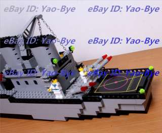 FRIGATE WARSHIP MILITARY NAVAL SHIP CHILDRENS KIDS BUILDING TOY