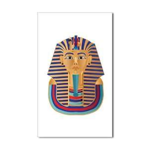 Sticker (Rectangle) Egyptian Pharaoh King Tut: Everything