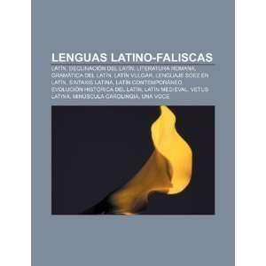 Lenguas latino faliscas Latín, Declinación del latín