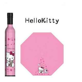 New VERY Cute Folding Hello Kitty Bottle Umbrella FREE POSTAGE