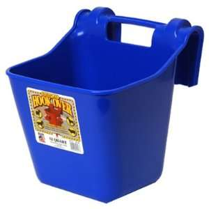 Miller Mfg Co HF12BLUE Hook Over Plastic Hanging Feeder 12 Quart, Blue