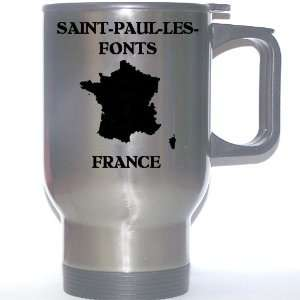 France   SAINT PAUL LES FONTS Stainless Steel Mug