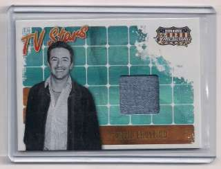 2008 Don. Americana TV Stars David Faustino Swatch Card